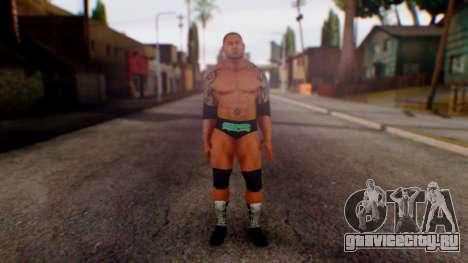 WWE Batista для GTA San Andreas второй скриншот