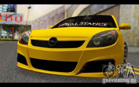 Opel Vectra Special для GTA San Andreas вид сзади