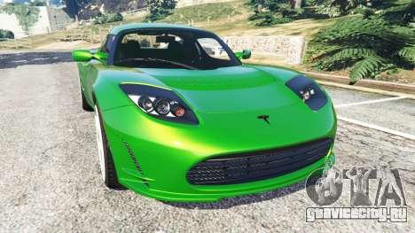 Tesla Roadster Sport 2011 для GTA 5