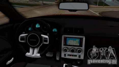 Dodge Challenger SRT-8 2010 для GTA San Andreas вид справа