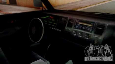 GTA 5 Rental Shuttle Bus Touchdown Livery для GTA San Andreas вид справа