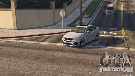 BMW X6M F16 Final для GTA 5 вид сзади