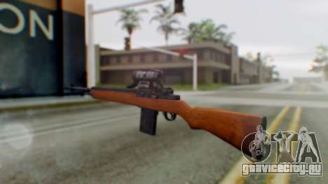 Arma2 M14 Assault Rifle для GTA San Andreas второй скриншот