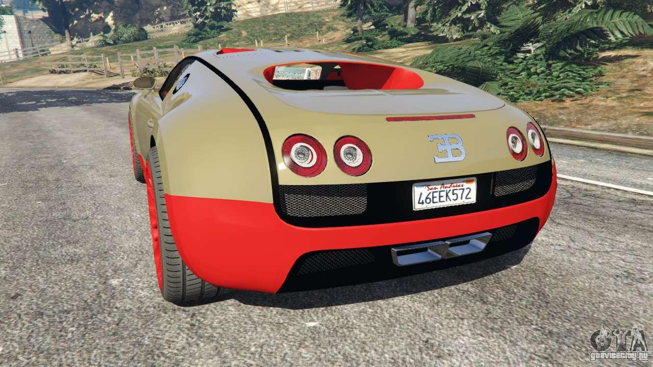 bugatti veyron super sport gta 5. Black Bedroom Furniture Sets. Home Design Ideas