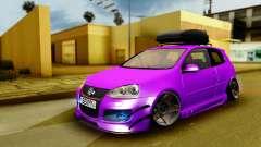 Volkswagen Golf Mk5 Stanced для GTA San Andreas