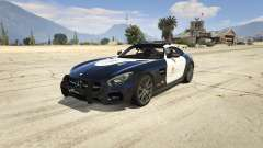 LAPD Mercedes-Benz AMG GT 2016