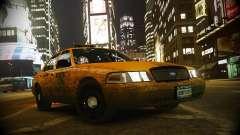 Ford Crown Victoria L.C.C Taxi для GTA 4