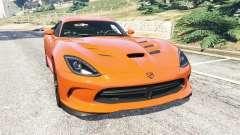 Dodge Viper SRT 2014 для GTA 5