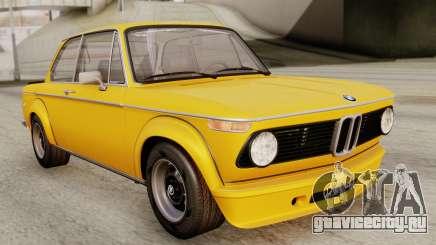 BMW 2002 Turbo 1973 Stock для GTA San Andreas