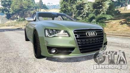 Audi S8 Quattro 2013 v1.2 для GTA 5