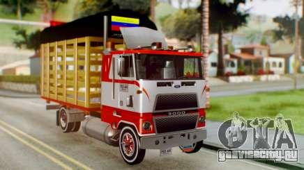 Ford 9000 Con Estacas Stylo Colombia для GTA San Andreas