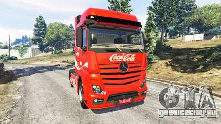 Mercedes-Benz Actros Euro 6 [Coca-Cola] для GTA 5