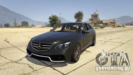 Mercedes-Benz E63 AMG Unmarked Cruiser для GTA 5