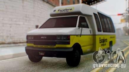 GTA 5 Rental Shuttle Bus Escalera Livery для GTA San Andreas