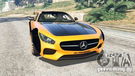 Mercedes-Benz AMG GT 2016 [LibertyWalk] для GTA 5