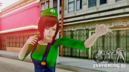 Fatal Frame 4 Misaki Luigi Clothes для GTA San Andreas