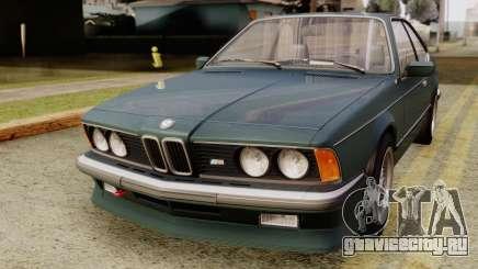 BMW M635 E24 CSi 1984 Stock для GTA San Andreas