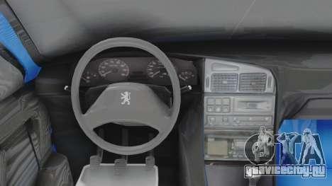 Peugeot 405 Full Tuning для GTA San Andreas вид справа