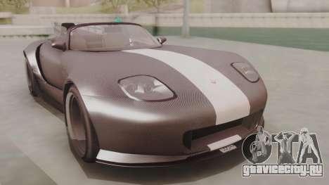 GTA 5 Bravado Banshee 900R Carbon для GTA San Andreas