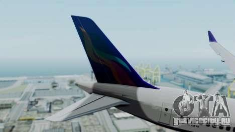 C919 UrumqiAir для GTA San Andreas вид сзади слева