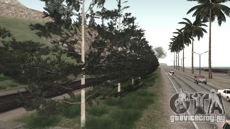 Ремонт дороги Los Santos - Las Venturas для GTA San Andreas двенадцатый скриншот