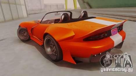 GTA 5 Bravado Banshee 900R для GTA San Andreas вид слева