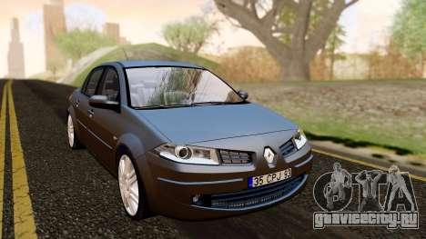 Renault Megane CPJ для GTA San Andreas вид справа