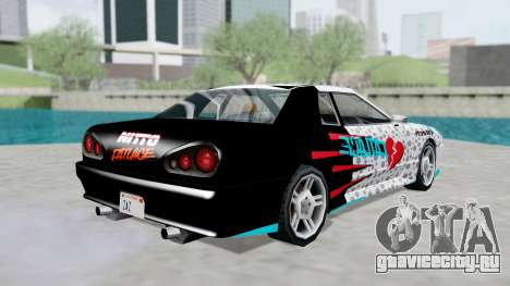 Elegy 4 Drift Drivers V2.0 для GTA San Andreas вид слева
