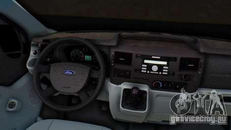 Ford Transit 2007 Model AirTran для GTA San Andreas вид сбоку