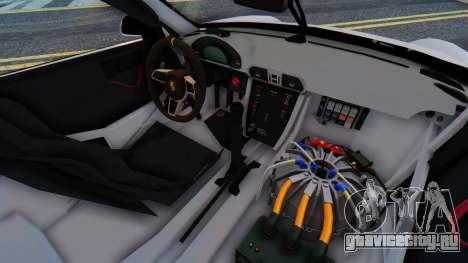 Porsche 911 GT3 Cup для GTA San Andreas вид сзади