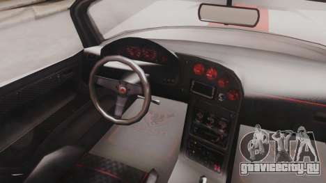 GTA 5 Bravado Banshee 900R IVF для GTA San Andreas вид сзади