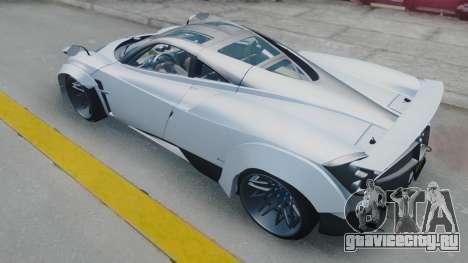 Pagani Huayra LB Performance для GTA San Andreas вид сзади слева