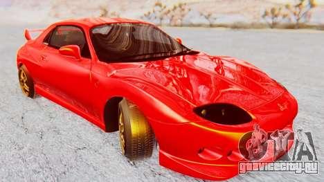 Mitsubishi FTO GP 1998 Version R для GTA San Andreas вид сзади слева