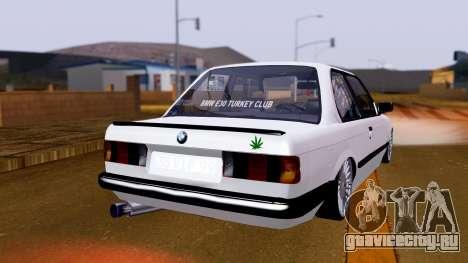 BMW M3 E30 Special для GTA San Andreas вид слева