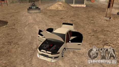 Mitsubishi Galant VR-4 (2JZ-GTE) для GTA San Andreas вид справа
