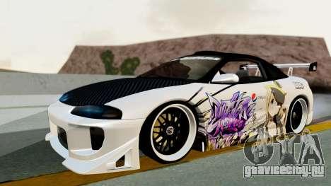 Mitsubishi Eclipse 1999 Mugi Itasha v2 для GTA San Andreas