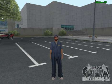 Скин работника ИЖ Автосервис для GTA San Andreas