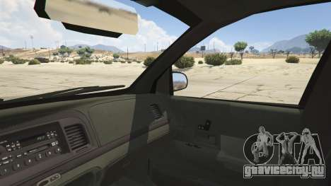Ford Crown Victoria Detective для GTA 5 вид сзади справа