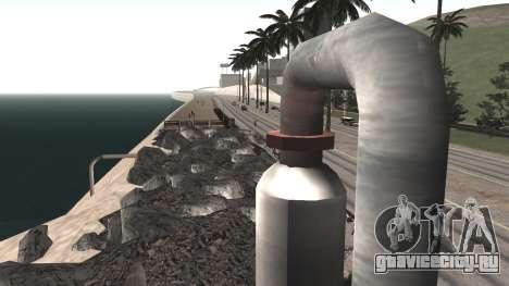 Ремонт дороги Los Santos - Las Venturas для GTA San Andreas шестой скриншот