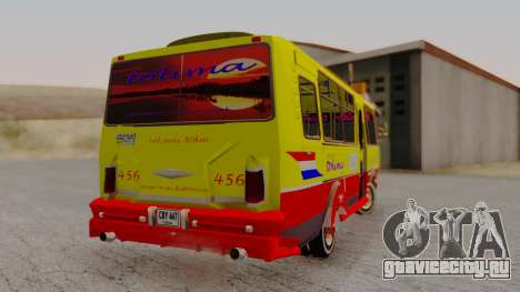 PAZ 3205 Stylo Colombia для GTA San Andreas вид слева