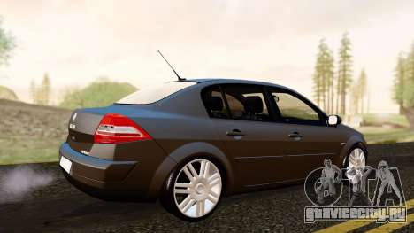 Renault Megane CPJ для GTA San Andreas вид сзади слева