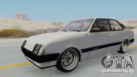 Chevrolet Chevette Stance для GTA San Andreas вид справа