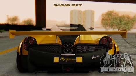 Pagani Huayra LB Performance V.2 для GTA San Andreas вид слева