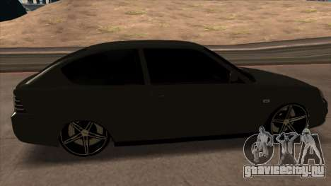 Лада Приора Купе для GTA San Andreas вид справа