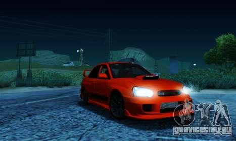 Subaru Impreza WRX STi LP 400 для GTA San Andreas
