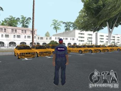 Скин работника ИЖ Автосервис для GTA San Andreas второй скриншот