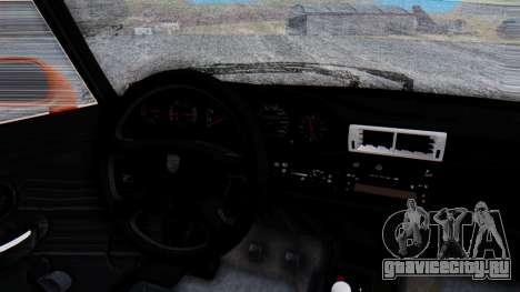 Porsche 993 GT2 RWB GARUDA для GTA San Andreas вид изнутри