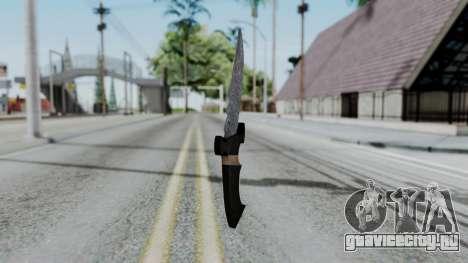 New Knife для GTA San Andreas второй скриншот