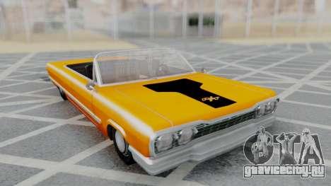 Savanna 2F2F Challenger PJ для GTA San Andreas