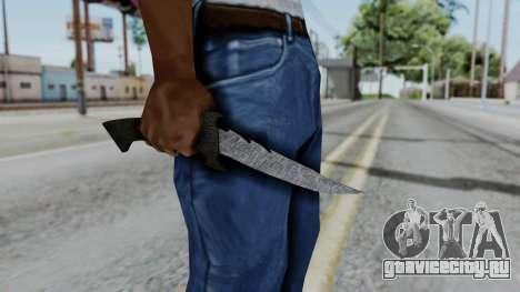 New Knife для GTA San Andreas третий скриншот
